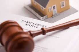 Foreclosure Notice and judge gavel
