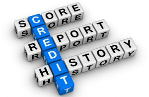 Credit Report, History and Score Text Image